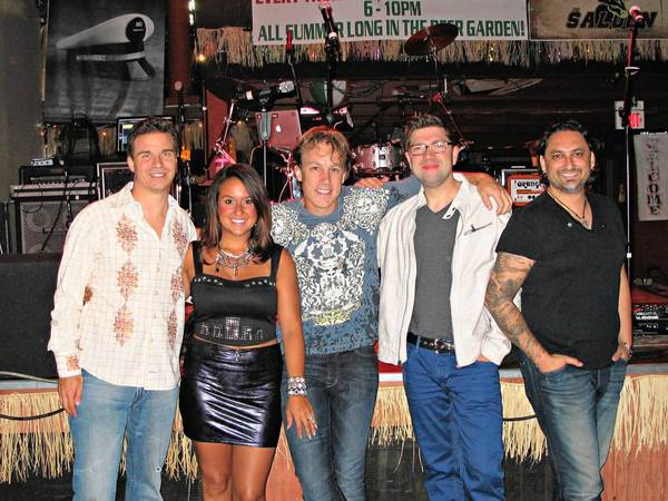 Chicago-based cover band Maggie Speaks' members are, from left, vocalists David Calzaretta and Nicole Garza, drummer Blake Cooper, bassist Shawn Sommer and guitarist Samir Varma. They will take their all-ages show to Orland Park on Sept. 1 at Centennial Park East.
