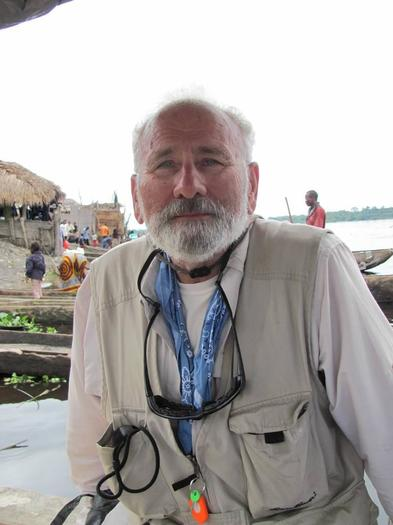 Andrew Jampoler, author of new book about 1885 Naval exploration into the Congo