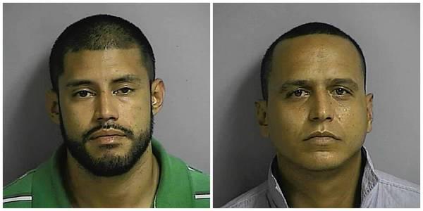 Oscar Arauz-Zambrano, left, Johnny Ochoa, right