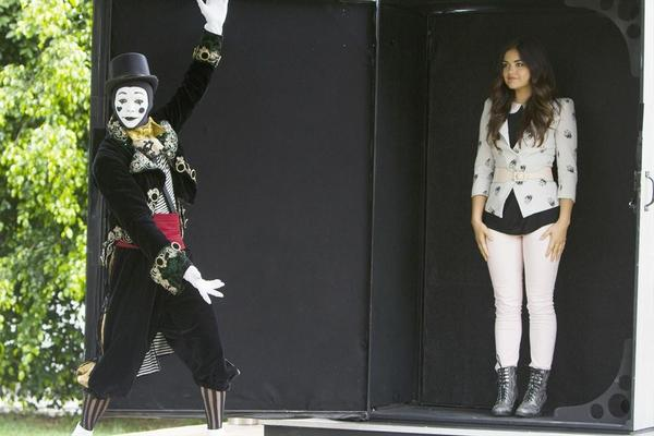 """""""A"""" sends the Liars on a quest that leads to Ravenswood in """"Now You See Me, Now You Don't,"""" the summer finale episode of ABC Family's """"Pretty Little Liars."""""""
