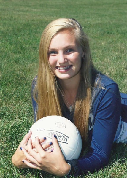 Aside from playing volleyball, Lisle senior Summer Stitt is an All-Conference softball player.