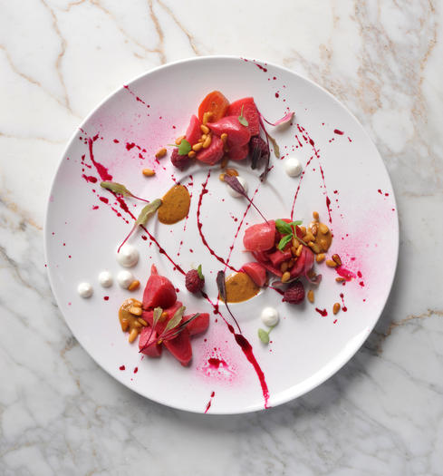 Fleet Street Kitchen's Heirloom Beet Salad