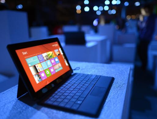 Microsoft aggressively compared its Surface RT tablet with the fourth generation iPad, touting its USB port and built-in kickstand and keyboard, but the public wasn't buying. Just nine months after the tablet's release, Microsoft announced a $900-million write-down because of unsold Surface RTs.