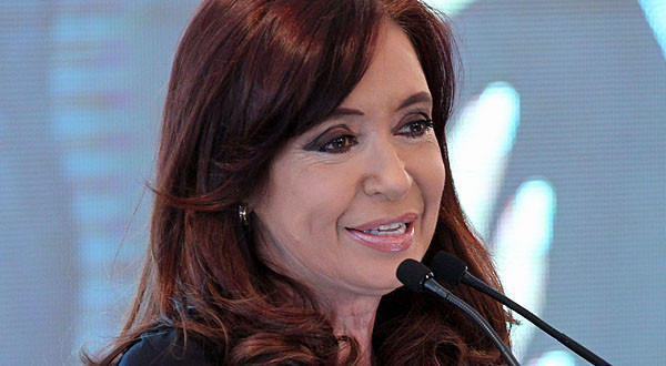 President Cristina Fernandez said she would ask Argentina's legislature to pass a law offering holders of the nation's bonds the chance to swap them for new bonds issued out of Argentina instead of New York.