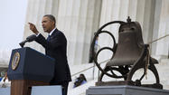 Barack Obama and the March on Washington: Rhetoric and reality