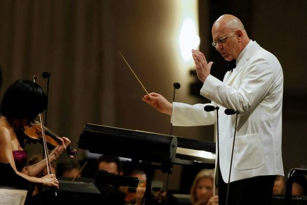 Leon Botstein conducts the Los Angeles Philharmonic at the Hollywood Bowl.