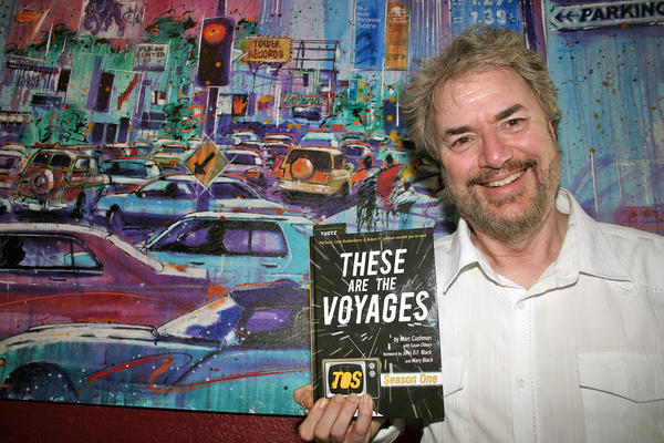"Marc Cushman, author and President of Glendale's Alameda Writers Group, is on a publicity tour for his ""Star Trek"" tome, ""These Are the Voyages"" Season One."