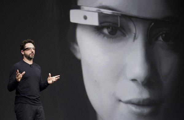 Sergey Brin, co-founder of Google Inc., wearing Project Glass at the 2012 Google I/O conference in San Francisco, has reportedly separated from his wife of six years.