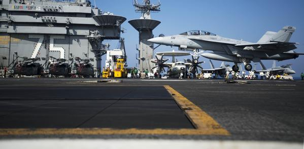 U.S. preparing for possible airstrikes on Syria