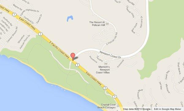 A cyclist was killed after a collision at Newport Coast Drive and East Coast Highway in Newport Beach.