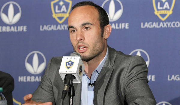 Landon Donovan's new multiyear contract with the Galaxy reportedly makes him the highest-paid player in Major League Soccer history