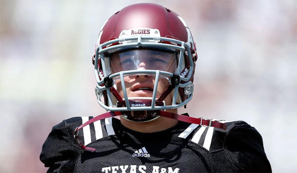 Quarterback Johnny Manziel will miss the first half of Texas A&M's season opener against Rice by the NCAA following allegations that he accepted money for autographs.