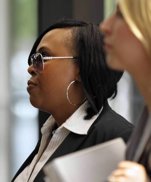 Carla Oglesby, a former top aide to then-Cook County Board President Todd Stroger, was convicted of theft and money-laundering charges Wednesday.