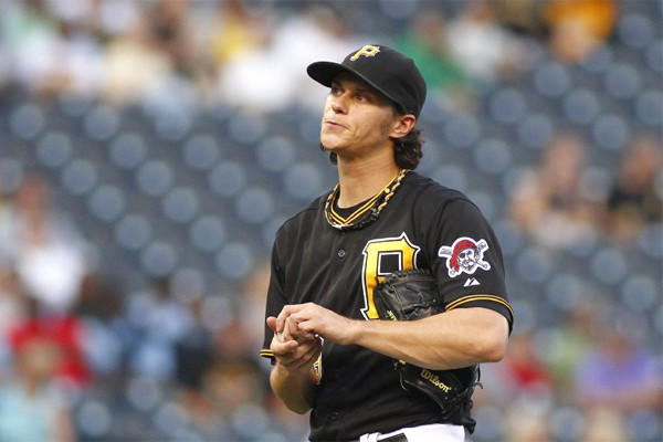 The Pittsburgh Pirates optioned pitcher Jeff Locke to double-A Altoona on Wednesday after the starter recorded only one victory in eight starts and a 6.18 earned-run average since the All-Star break.
