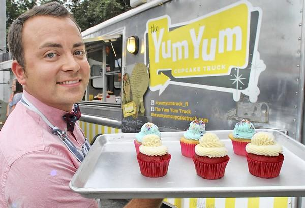 Alex Marin, is co-owner of The Yum Yum Cupcake Truck . Follow the truck on Facebook and at theyumyumcupcaketruck.com.