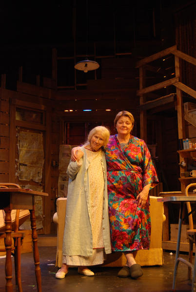 "Julie Harris and Nora Chester in The Effect of Gamma Rays on the Man-in-the-Moon Marigolds"" at the Monomoy Theatre in Chatham, Mass. in 2008."