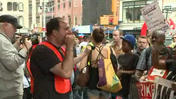 Fast-food protests in New York