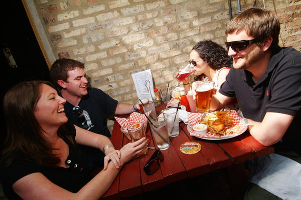 Let Sheffield's beer garden handle the Labor Day weekend barbecue.