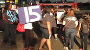 Fast-food wage protests launch in L.A.