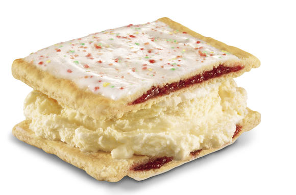 Carl's Jr. Pop-Tart ice cream sandwich
