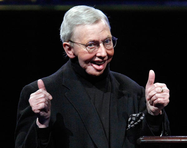 Film critic Roger Ebert was a long-time fixture at the Telluride Film Festival and one of its most vocal champions.