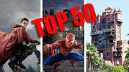 Pictures: Top 50 theme-park attractions
