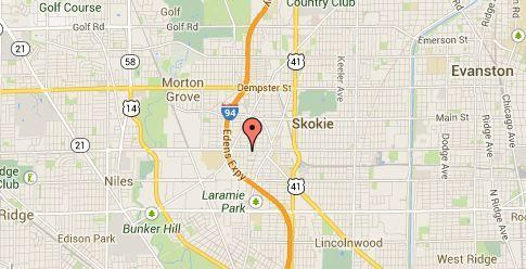 An 84-year-old man was struck and killed in front of Oakton Park in Skokie.