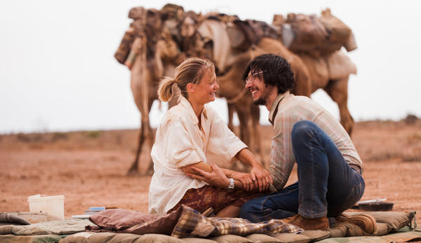 Actress Mia Wasikowska and actor Adam Driver in John Curran's film 'Tracks,' which just premiered at the Venice Film Festival on its way to appearances at Telluride and Toronto.