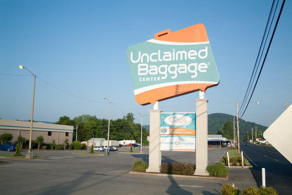 The Unclaimed Baggage Center resells cargo and luggage that has gone unclaimed at airlines.