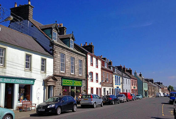 Bookshops  line the main street of Wigtown, which has become known as Scotland's national book town. Celebrate the written word with a fresh title -- or 12.