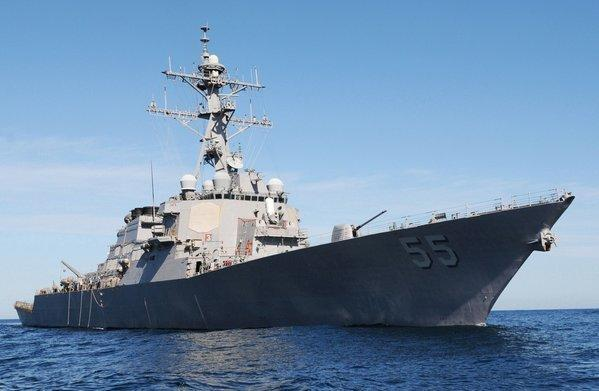The guided-missile destroyer Stout will join U.S. forces in the eastern Mediterranean.