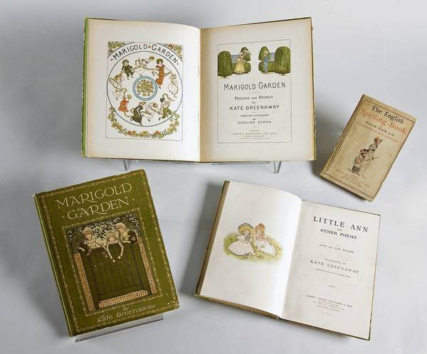 Children's books by Kate Greenaway from the Morse Museum collection