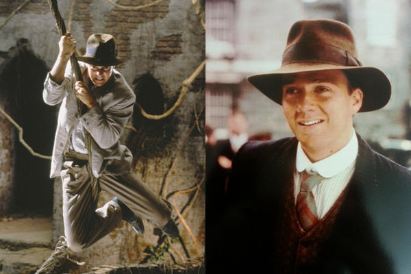 Sean Patrick Flanery as Indiana Jones in