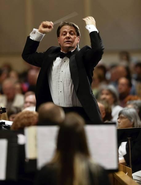 Orlando Concert Band conductor Jon Territo