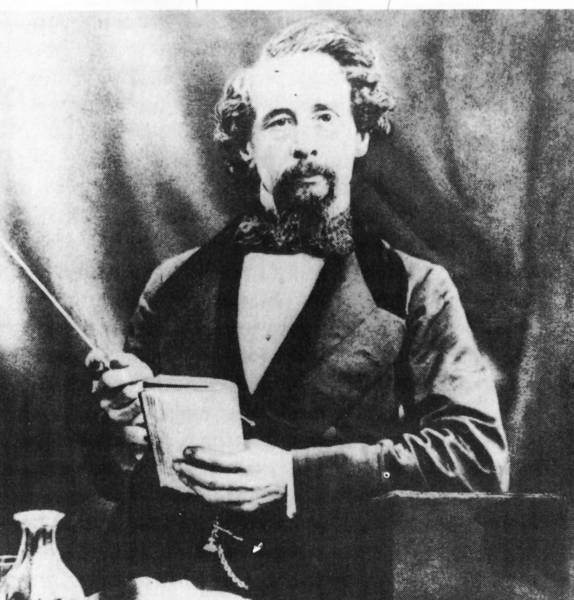 Author Charles Dickens