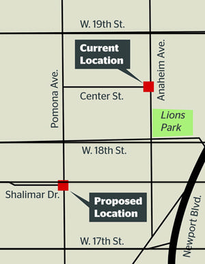 The Newport-Mesa Unified School District reversed its decision to relocate the bus stop at Anaheim Avenue and Center Street in Costa Mesa's westside. The proposed new location was going to be on Pomona Avenua and Shalimar Drive.