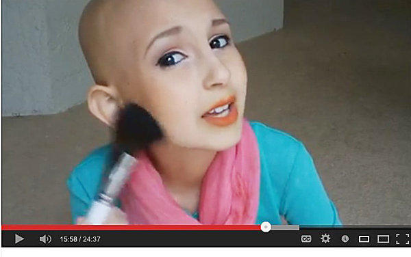YouTube video star Talia Castellano, who died in July. Los Angeles designer Urbana Chappa volunteered to make Talia's vision of a clothing line into a reality.