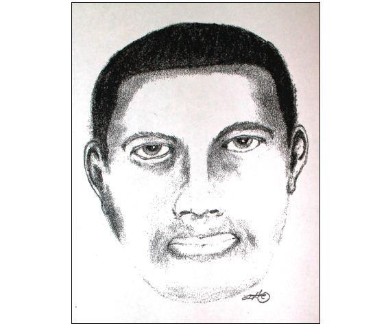 A composite sketch of one of three men suspected in a Frankfort home invasion.