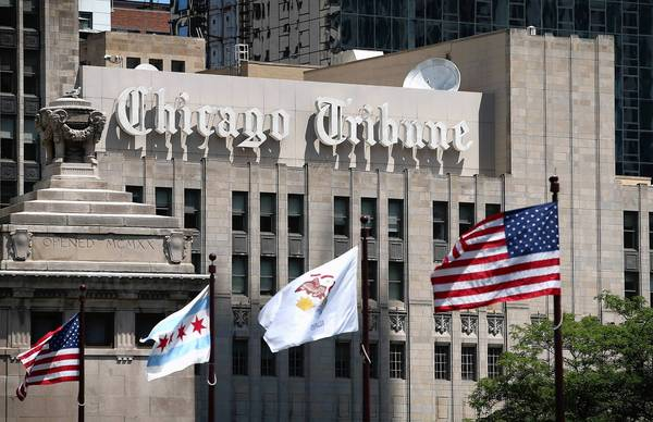Tribune Co. owns the Chicago Tribune, the L.A. Times and numerous other media outlets.