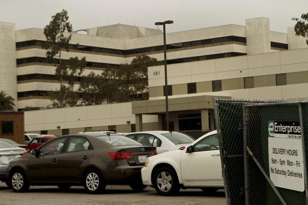 In 2011, Enterprise was storing rental cars on VA property in West Los Angeles.