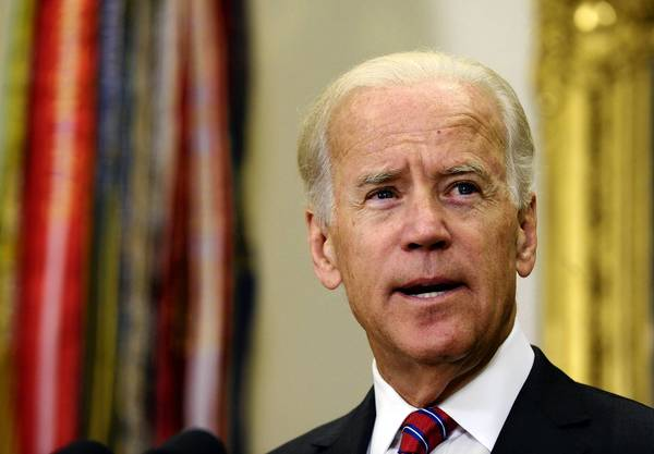 Vice President Joe Biden speaks at the swearing-in of B. Todd Jones as head of the Bureau of Alcohol, Tobacco, Firearms and Explosives.