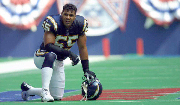 Legendary San Diego Charger Junior Seau, who committed suicide in 2012, was one of several players diagnosed with chronic traumatic encephalopathy (CTE) after their death.