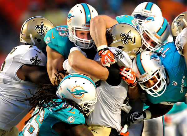 Game Day Open Thread: Dolphins at Saints