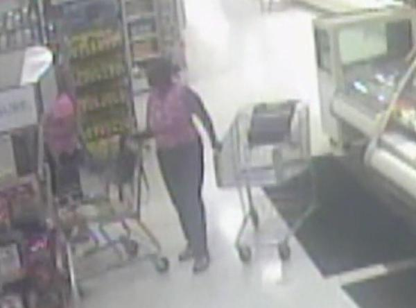 Broward Sheriff detectives are searching for a woman seen on surveillance video stealing wallets from purses at a supermarket in Weston