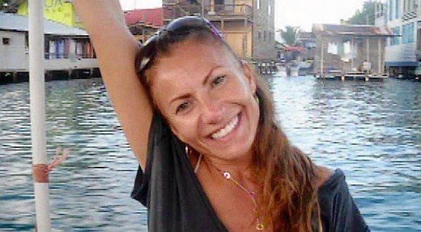 Yvonne Baldelli poses for a photo in Panama. The Dana Point woman's remains were found in that country this week. Her boyfriend, Brian Brimager, is being held in San Diego on charges of obstruction of justice. Panamanian authorities are expected to extradite him to that country in connection with Baldelli's death.