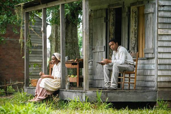 "Adepero Oduye and Chiwetel Ejiofor as in the movie ""12 Years a Slave."""