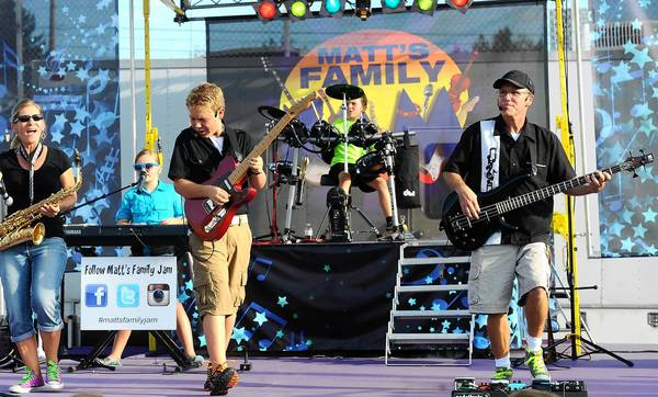 Matt's Family Jam at The Allentown Fair Tuesday.