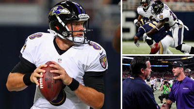 Five Things We Learned from the Ravens' loss to the St. Louis R…