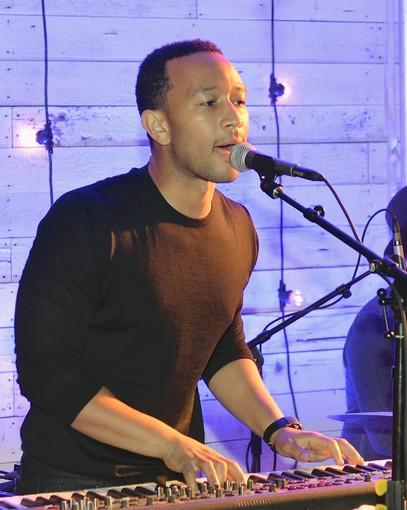 John Legend performs at MGM Grand on Oct. 20.