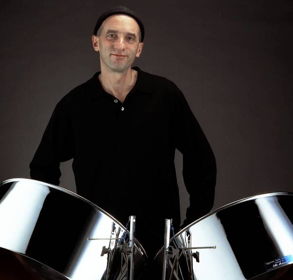 "Andy Narell, who ""took the steelpan out of the steelband and brought it into the jazz band,"" performs Nov. 21 at Hartt."